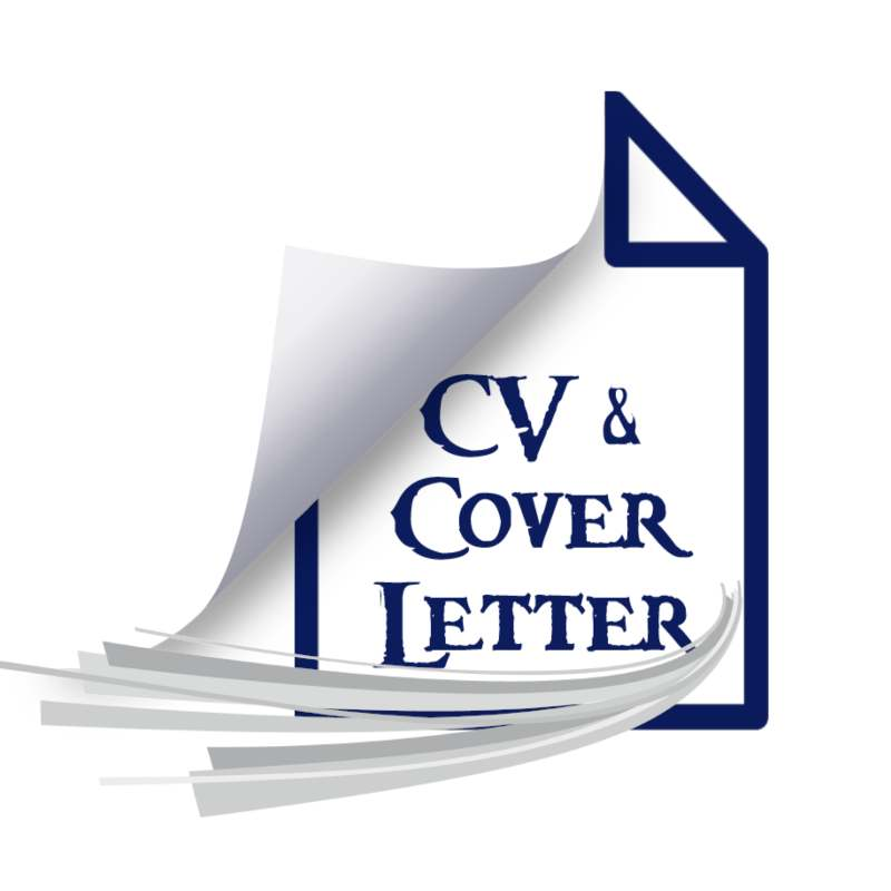 CV and cover letter writing and editing