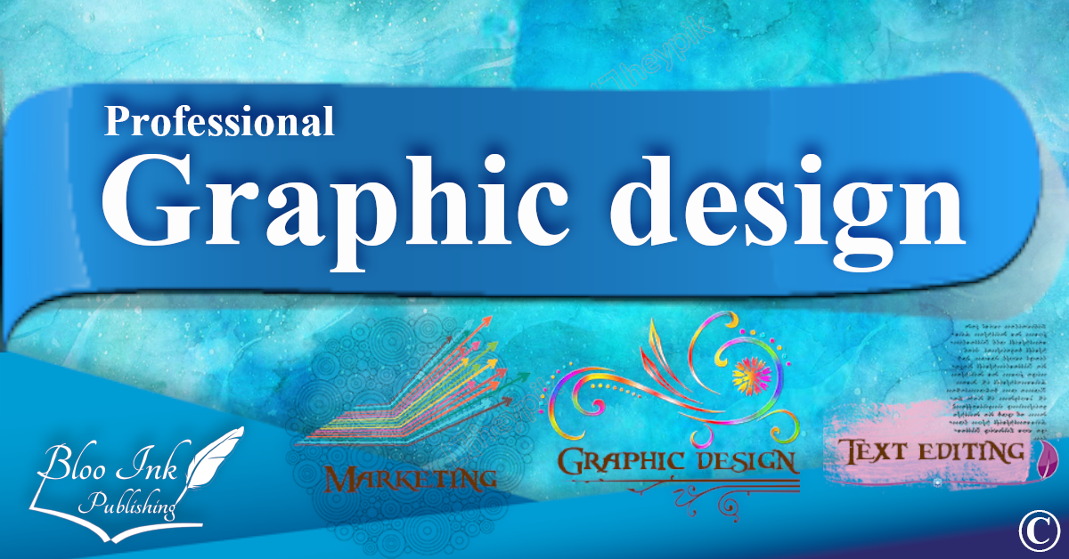 Graphic Design, Web Design, Logo Design, Business Cards Design, Leaflet design professionally at Bloo Ink Publishing Limited