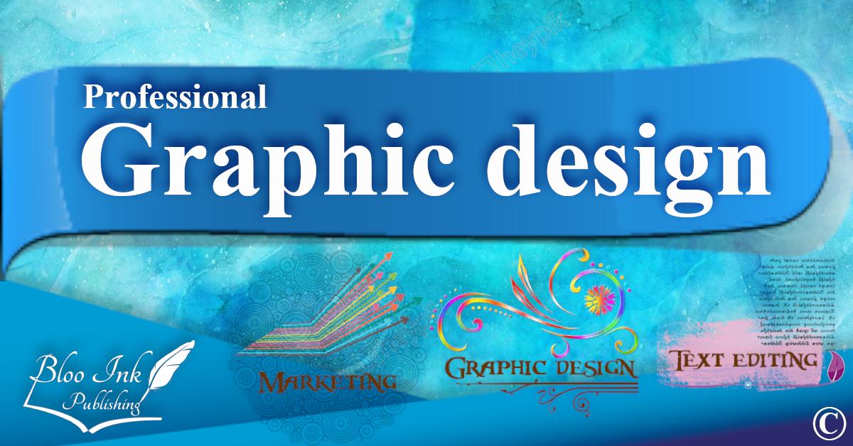 Graphic Design, Web Design, Logo Design, Business Cards Design, Leaflet design professionally at Bloo Ink Publishing Limited